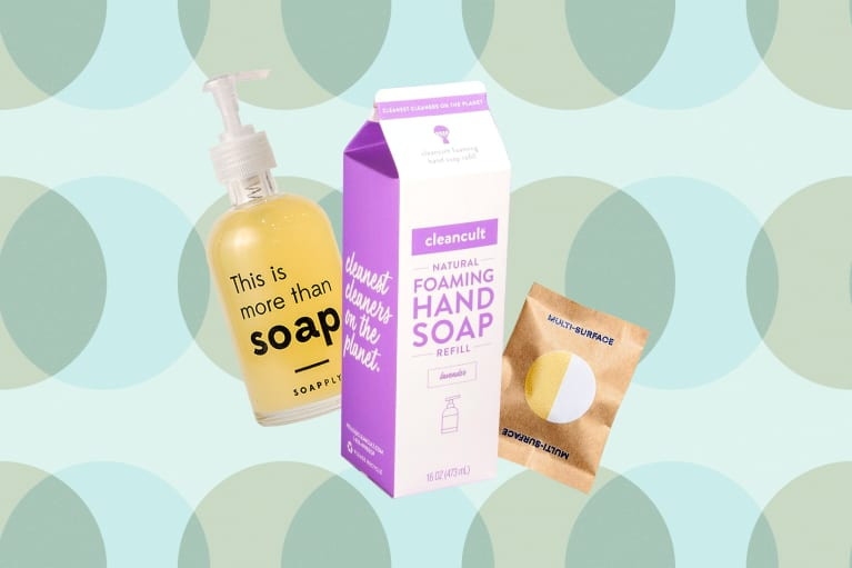 Soap Refills that cut down on packaging