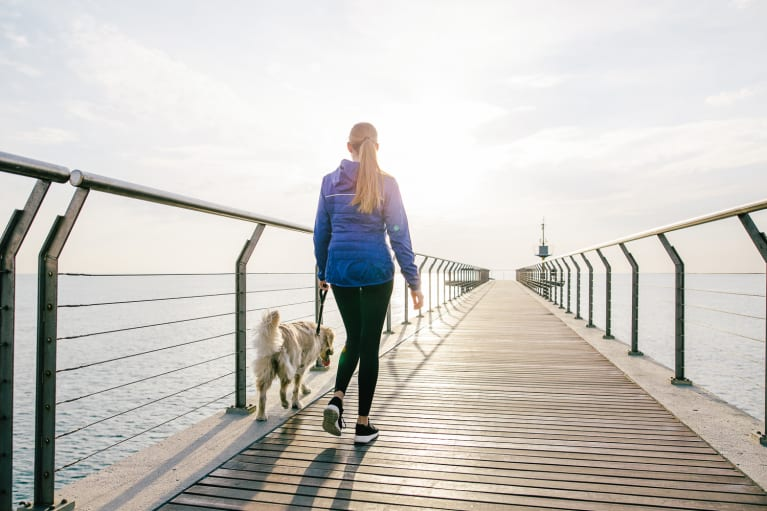 Studies Show Why You May Want To Take A Brisk Walk Today