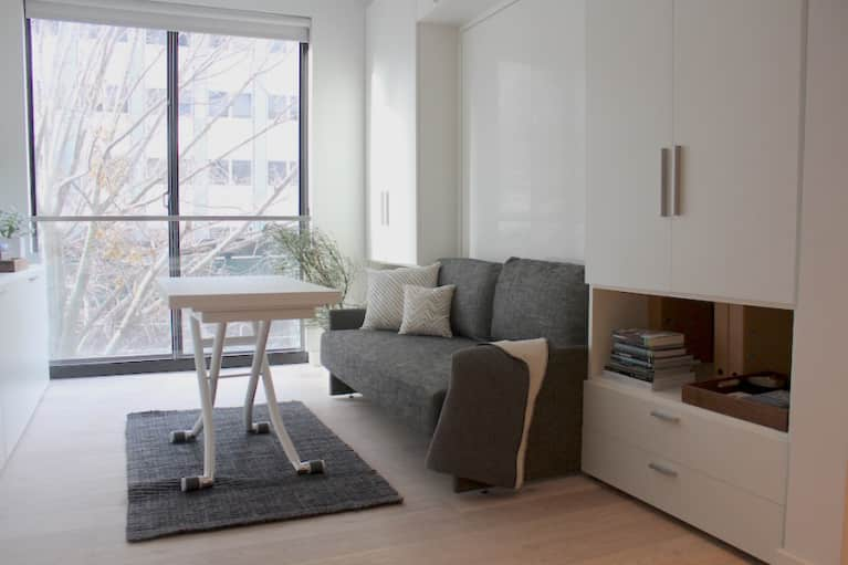 Take A Look Inside New York City's First Micro-Apartment (Photos)