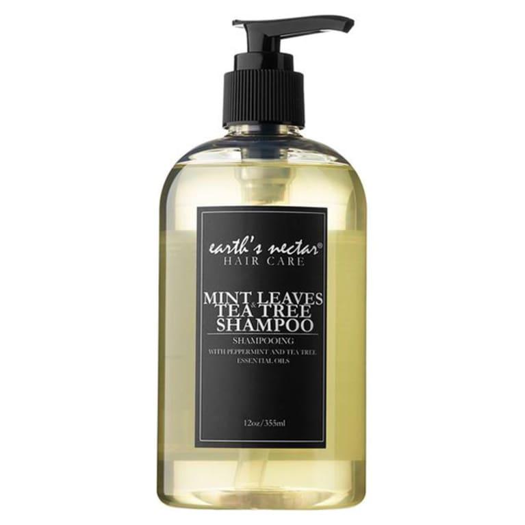 Earth's Nectar Mint Leaves & Tea Tree Shampoo
