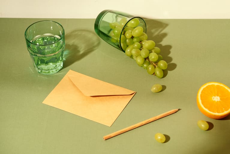 Still Life of a Handwritten Letter