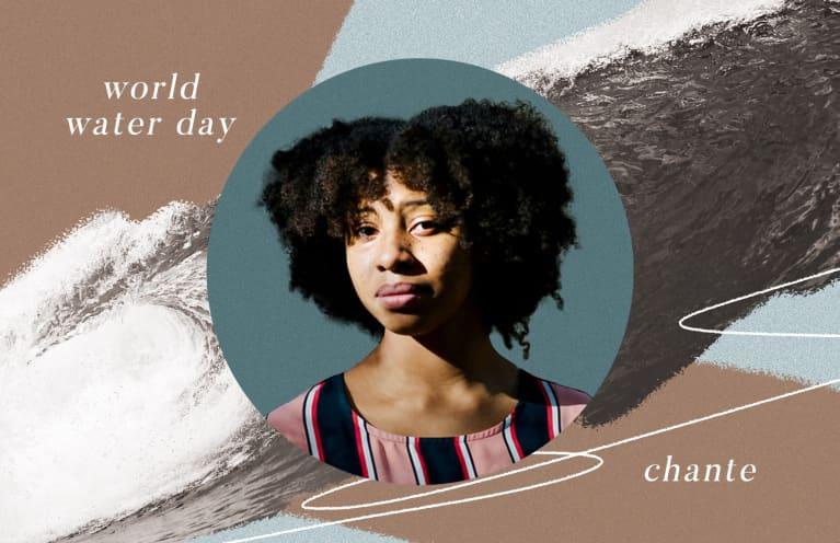 Chante Davis World Water Day