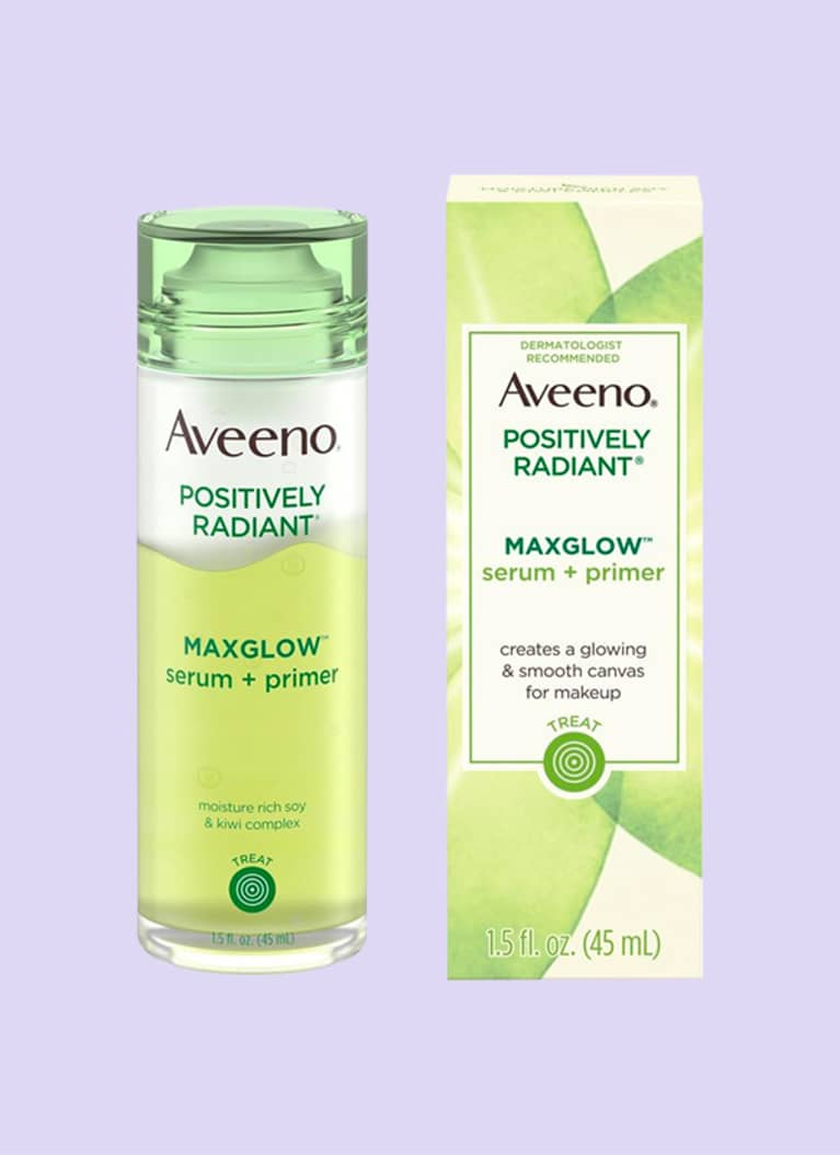 Aveeno Positively Radiant Maxglow Serum Primer