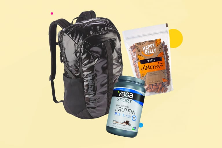Collage of wellness products blue zones expert Dan Buettner recommends to everyone