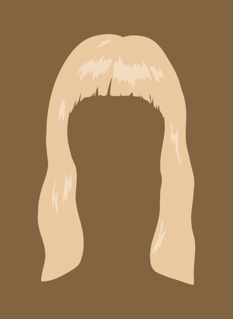 arched bangs
