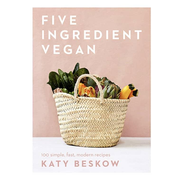 5 Ingredient Vegan by Katy Beskow cover