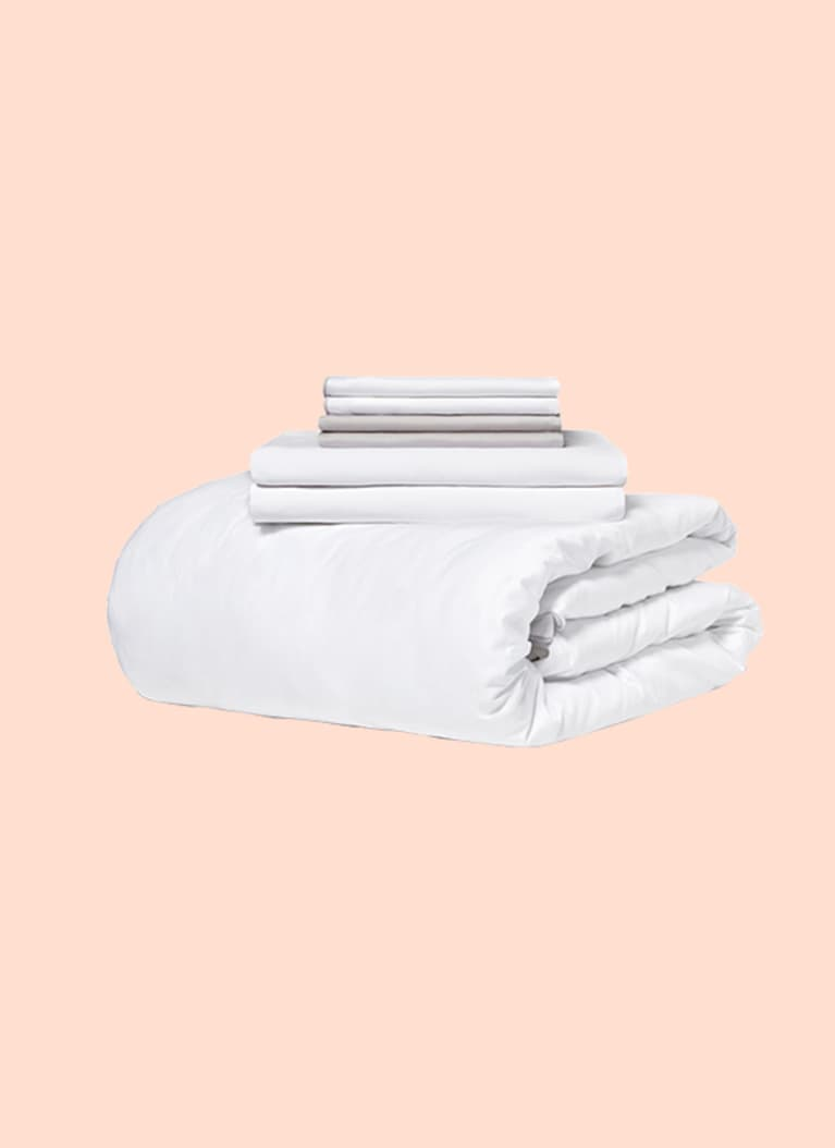3. Organic Cotton Sheet Set from Looma