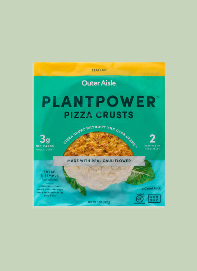 Outer Aisle Gourmet PlantPower Pizza Crusts