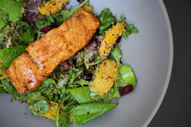 A Super-Simple Orange-Ginger Salmon Recipe