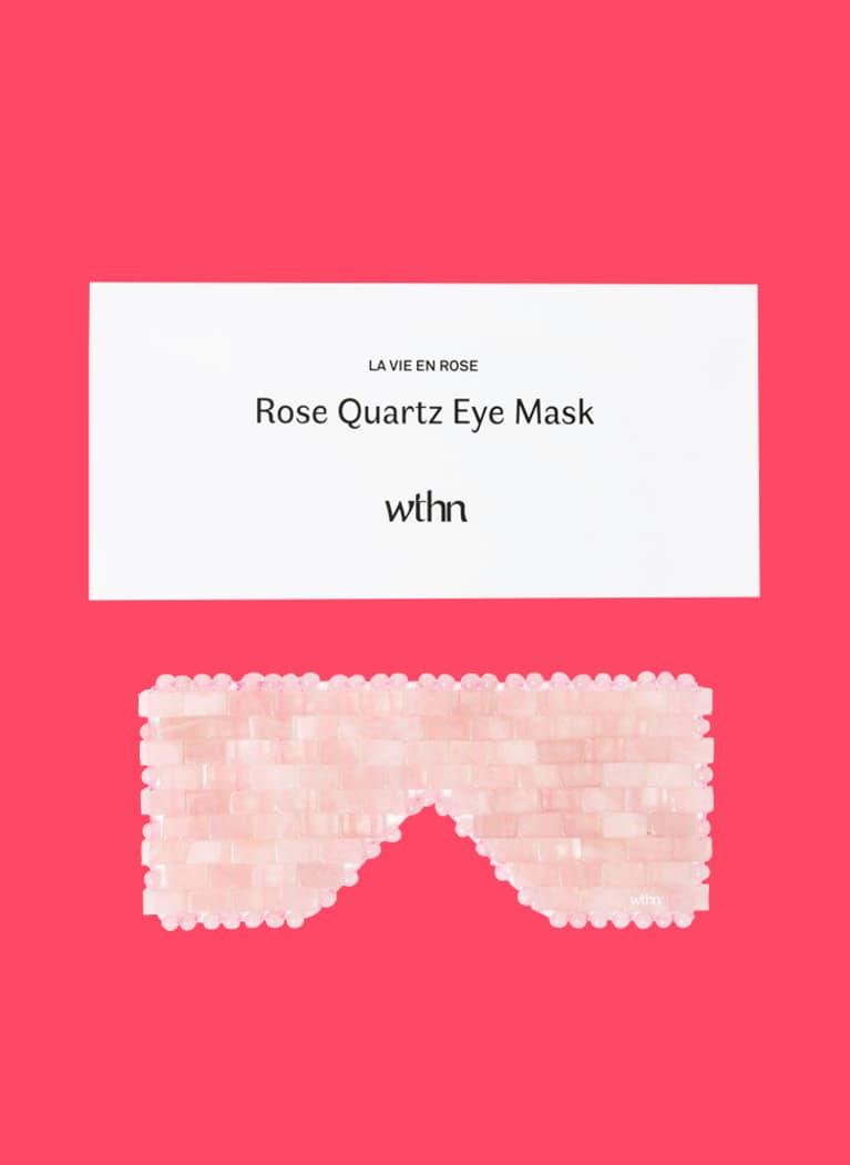rose quarts eye mask