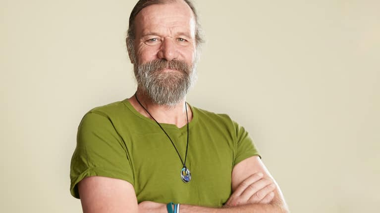 Wim Hof for the mindbodygreen Podcast