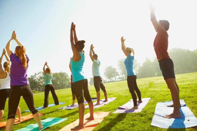 Why You Should Never Cut Out Of Your Yoga Class Early