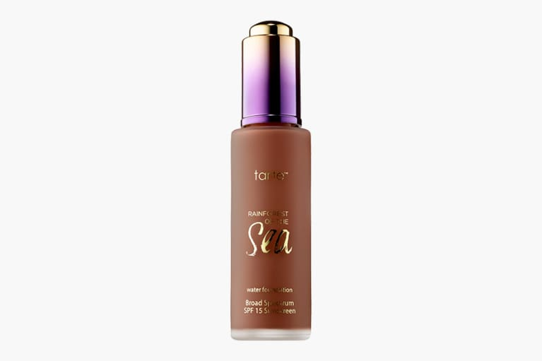 <p>Tarte Water Foundation Broad Spectrum SPF 15 - Sea Collection in 61H mahogany</p>