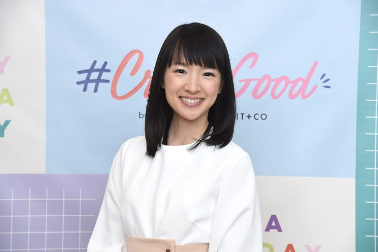 4 Things You Should Never Do When You Declutter, According To Marie Kondo