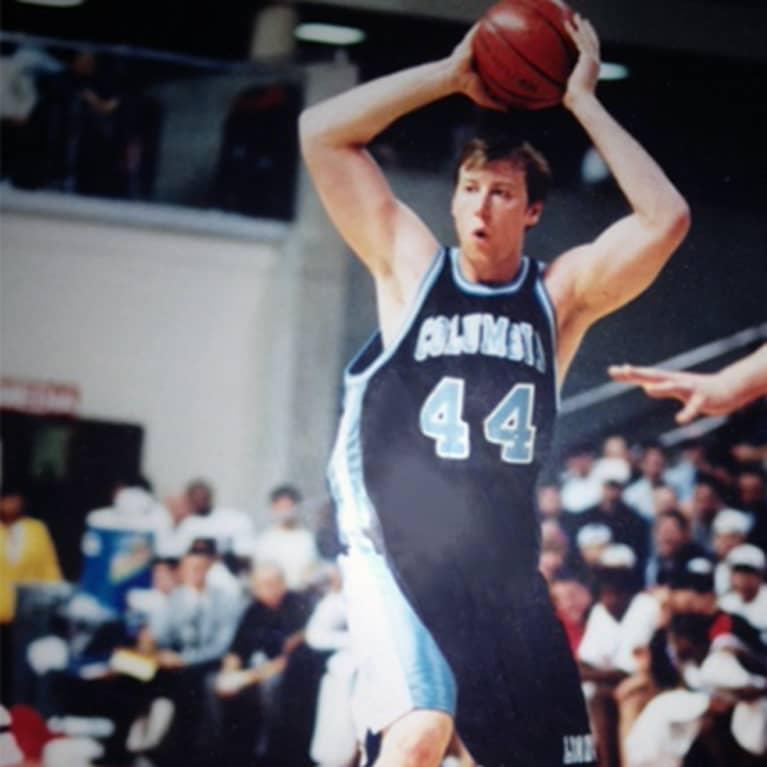 Jason Wachob playing basketball 1997
