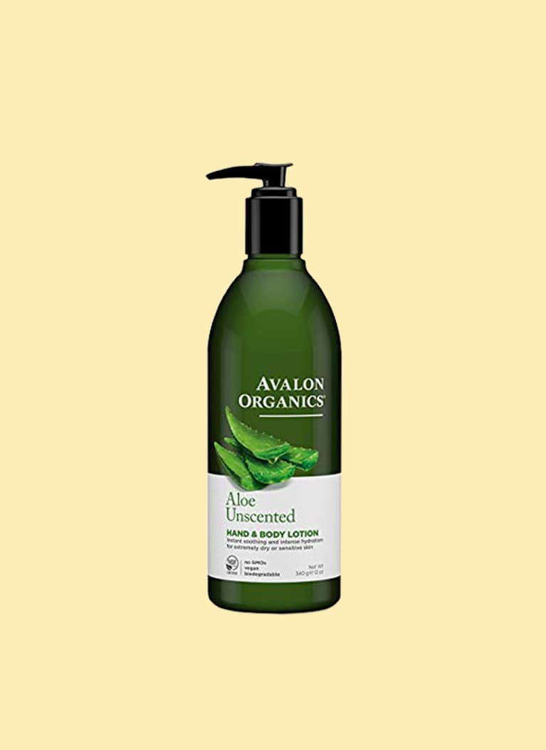 Avalon Organics Unscented Aloe Hand & Body Lotion