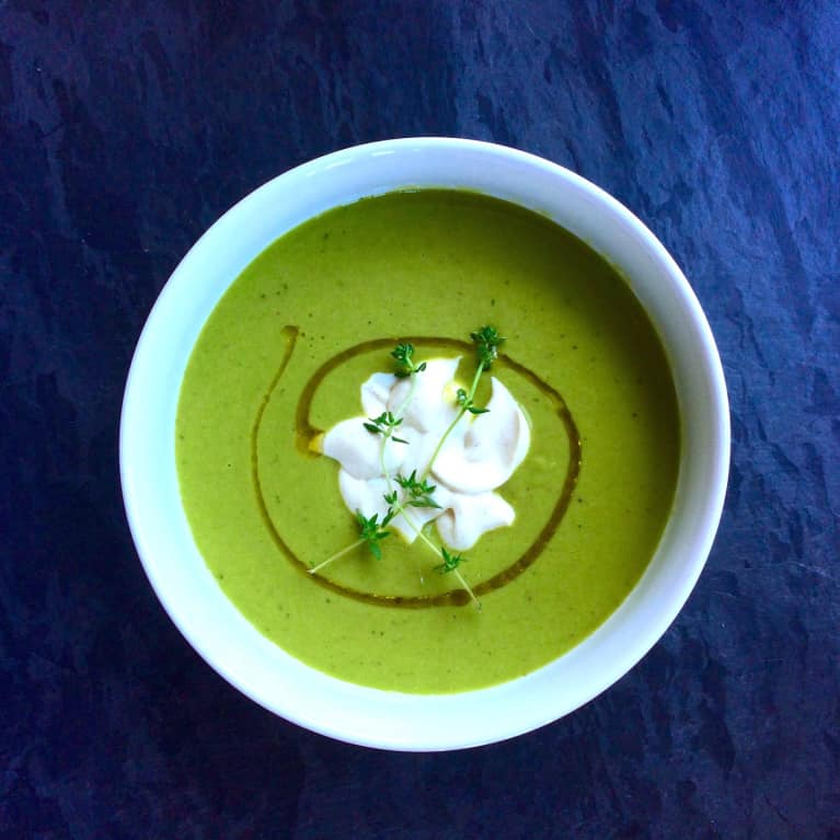 15-Minute Meal: Summer Pea Soup