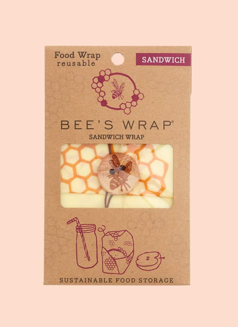 9. Instead of plastic foil, use Bee's Wrap.
