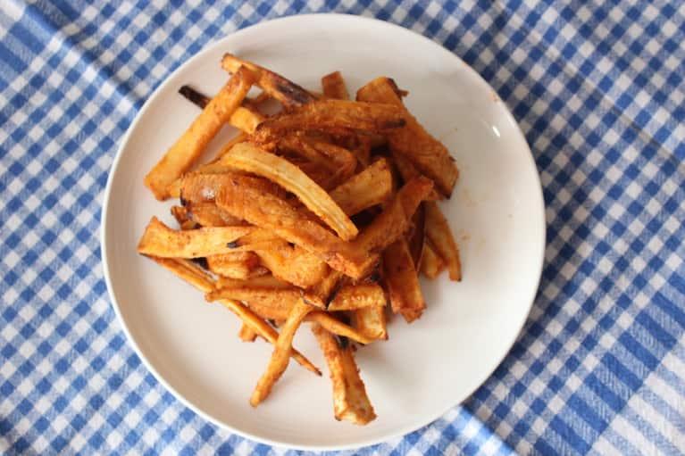 Crispy Roasted Parsnip Fries