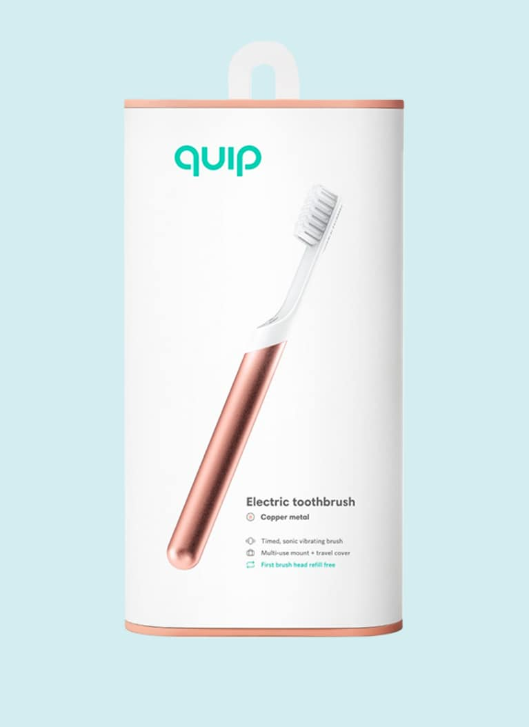Quip toothbrush subscription