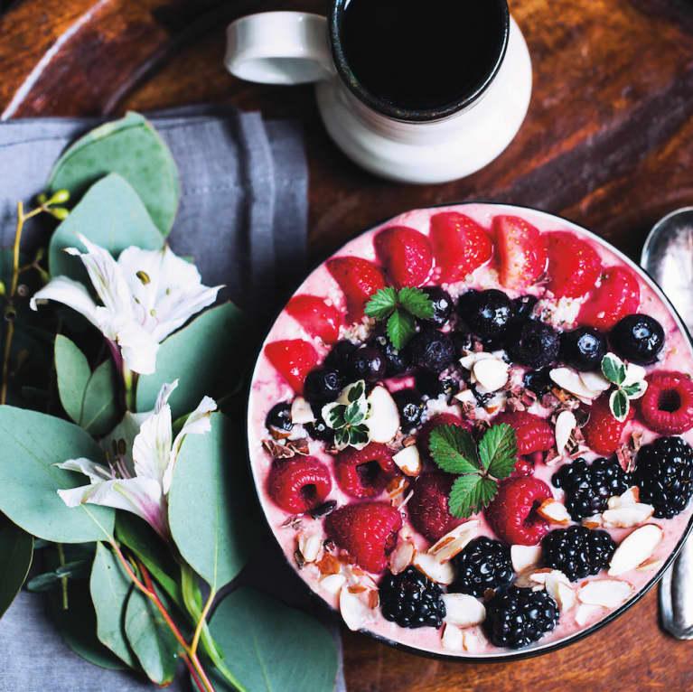 Brighten Up Breakfast: 5-Ingredient Pink Smoothie Bowl
