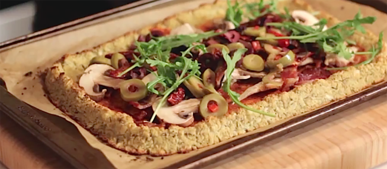 A Lighter, More Nutritious Take On Pizza (Even The Kids Love It)