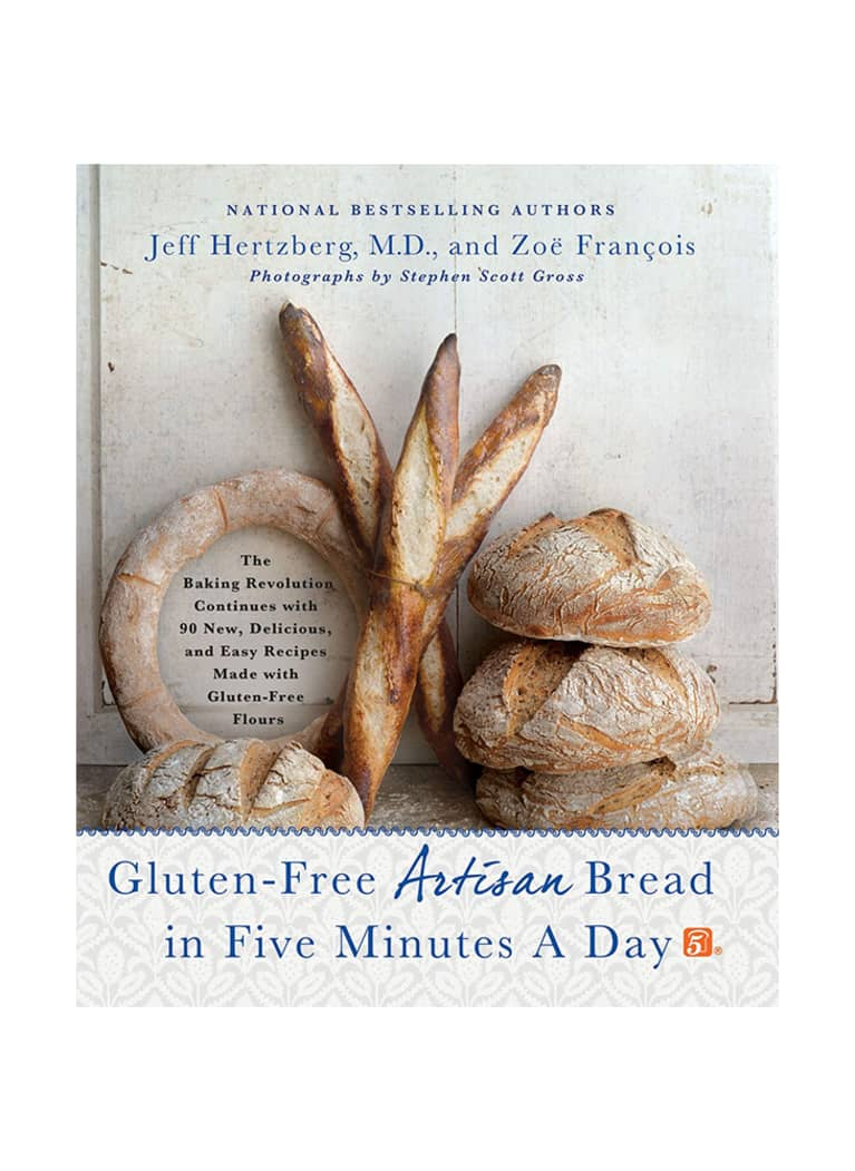 Gluten-Free Artisan Bread in Five Minutes a Day by Jeff Hertzberg and Zoë François cover image
