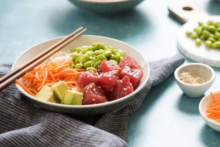Everything You Need To Know About The Poke Bowl Trend: A Nutritionist Explains