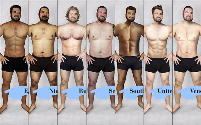 "This Is What The ""Perfect"" Man Looks Like In 19 Different Countries"