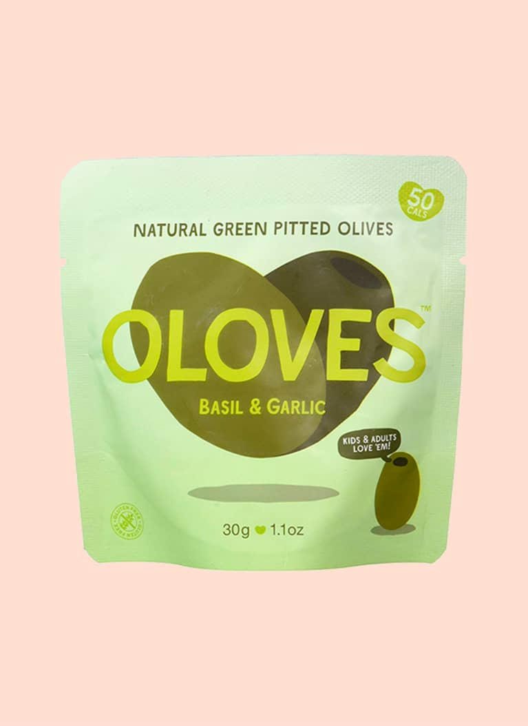 Oloves olives: 5.5 g fat, 0.3 g net carb