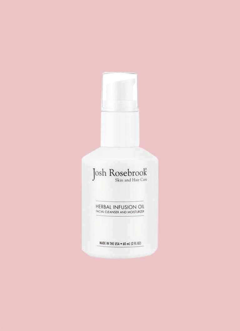 For all skin types: Josh Rosebrook Herbal Infusion Oil