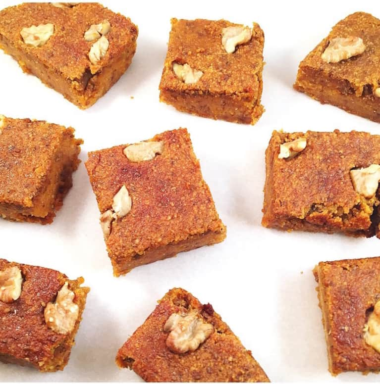 Pumpkin Spice Snack Bars That Will Put Those Lattés To Shame