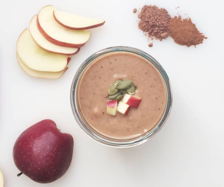 A Pumpkin-Apple Smoothie To Spice Up Your Morning