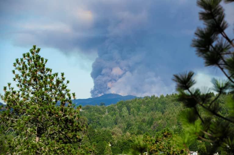 在野火之上,加州出现了新的空气质量问题