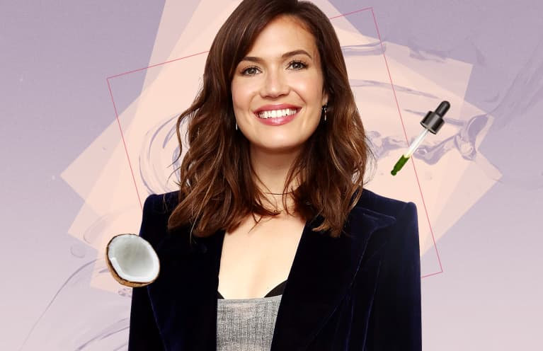 Mandy Moore Opens Up About Her Favorite Detox Rituals & The One Natural Beauty Product She Can't Live Without
