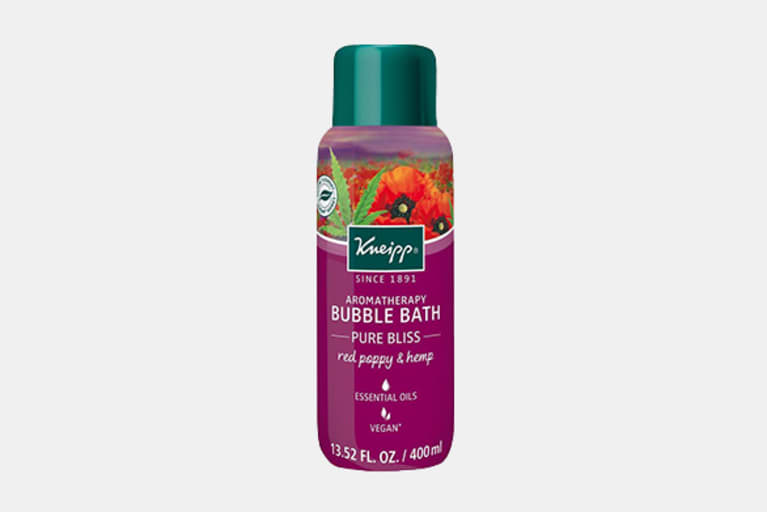 <p>Kneipp Pure Bliss Red Poppy &amp; Hemp Aromatherapy Bubble Bath</p>