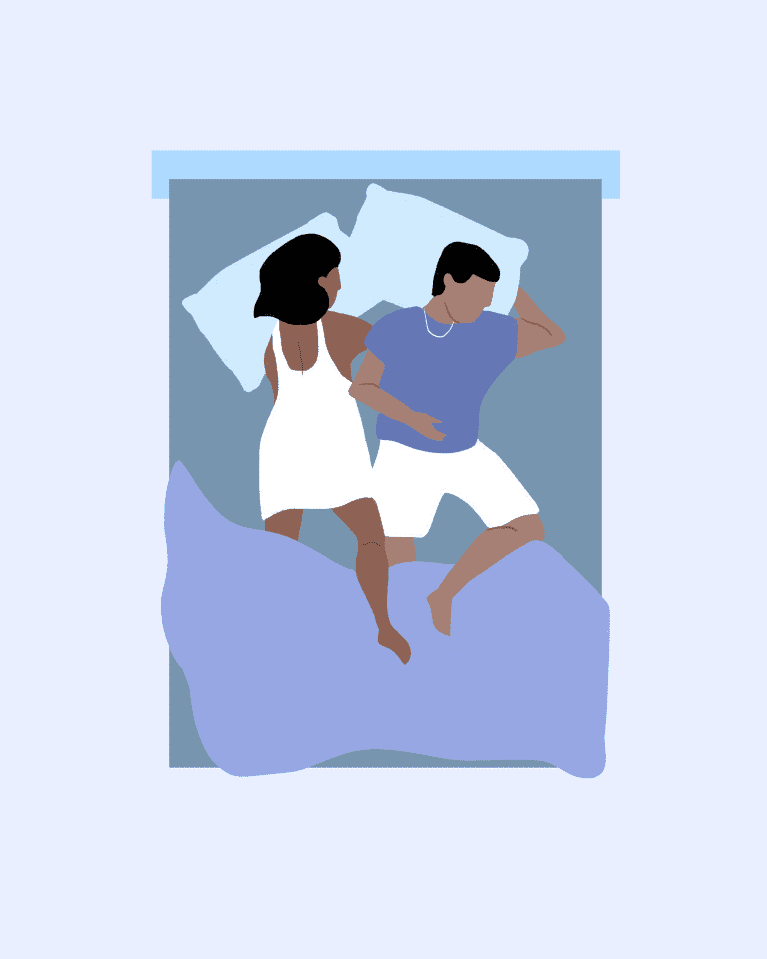 12 Couple Sleeping Positions What They Mean