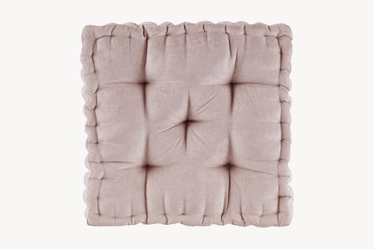 <p>Chenille Square Floor Pillow</p>