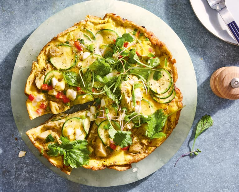 An Ultra-Satiating Veggie Frittata To Keep You Going Through A Fasting Window