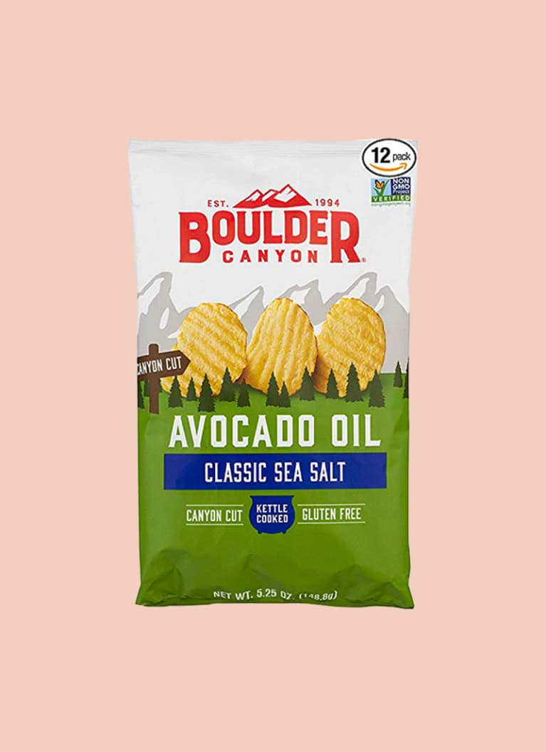 Boulder Canyon Avocado Oil Kettle Cooked Potato Chips