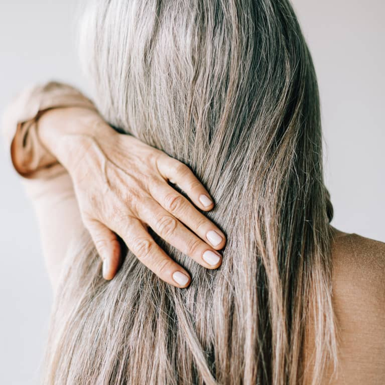 Stress really does turn your hair grey