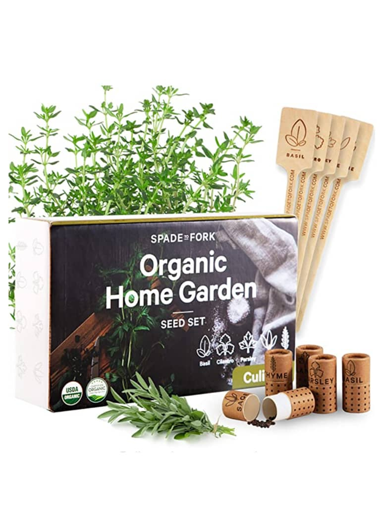 2. Spade to Fork Organic Home Culinary Seed Kit