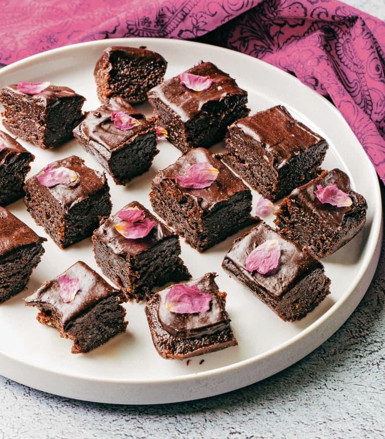 No-Bake Vegan Hazelnut Fudge Brownies