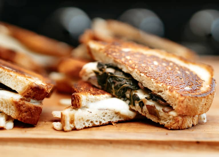 Life Hack: How To Melt Dairy-Free Cheese For Gooey, Crispy Grilled Cheese