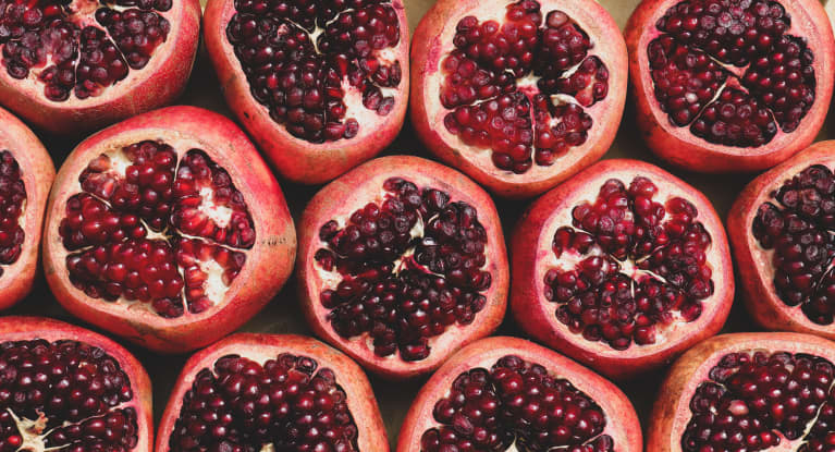 Why & How You Should Enjoy Pomegranates This Fall, From An RD