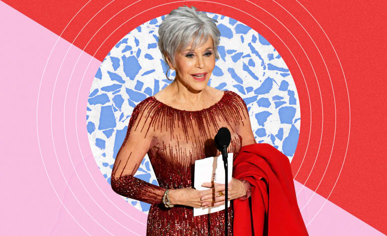 This Is Why Jane Fonda Carried Her Red Coat To Present At The Oscars