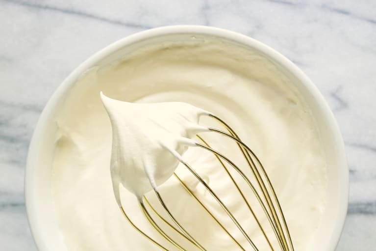 Freshly Whipped Aquafaba