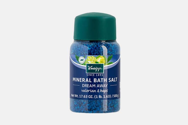 <p>Kneipp Dream Away Valerian &amp; Hops Mineral Bath Salt</p>