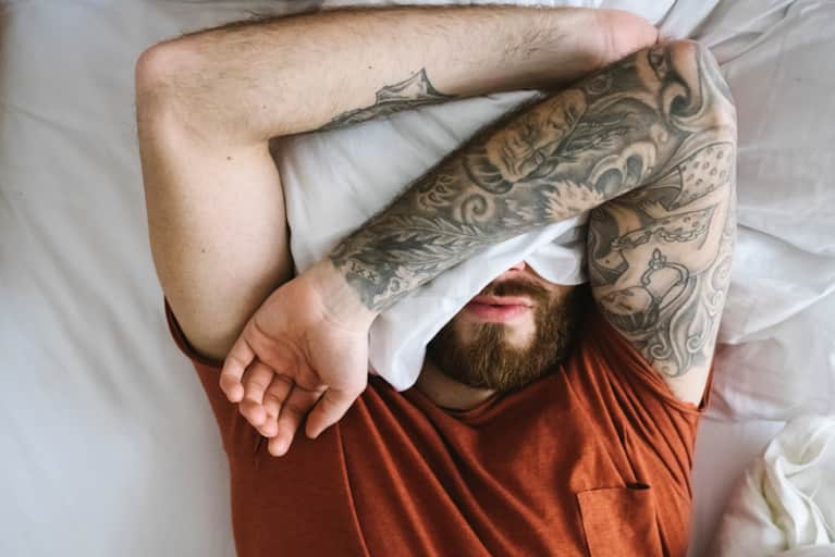 The Secret To Falling Asleep When You're Seriously Stressed