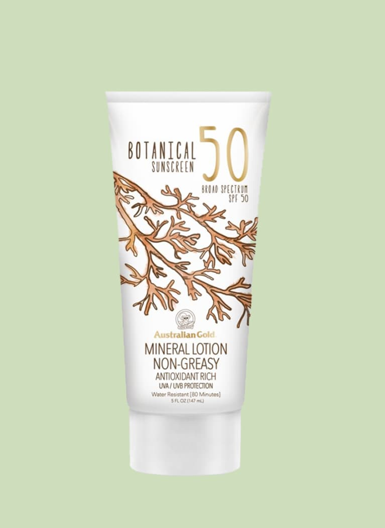 Australian Gold Botanical All Natural Max Strength SPF 50 Sunscreen Lotion
